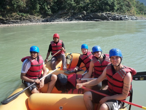 Ganga River Rafting – with different levels of difficulties and rapids