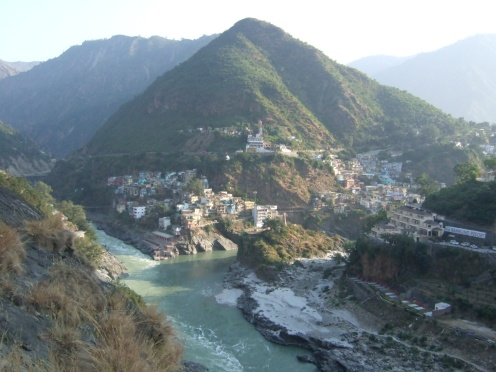 Devprayag – where the rivers Alakananda & Bhagirathi merge to form the holy Ganges