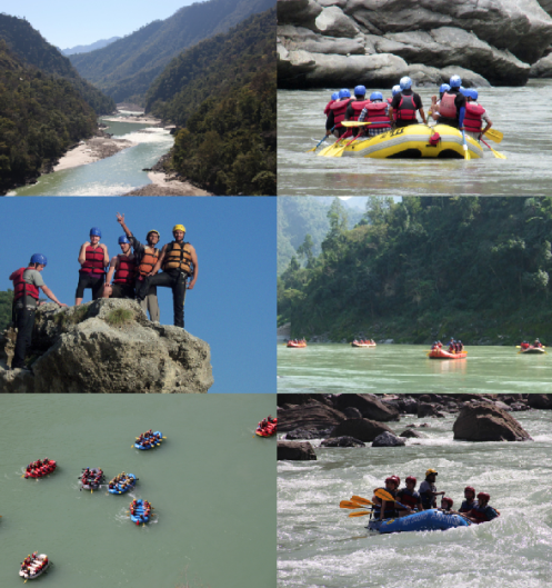 ganga river rafting