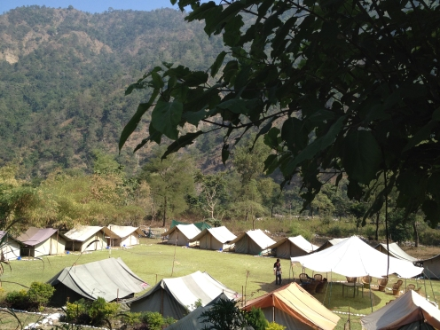 "Jungle camp (15 km from Rishikesh), details under ""Special Offers"""