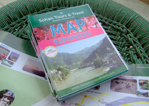 ::: Rishikesh Map Issue 01 ::: May 2013 ::: © 2013 copyright Sohan Tours & Travel :::
