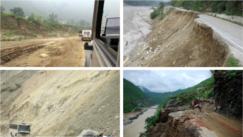 Uttarakhand: bad road conditions