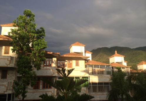 rishikesh sunset monsoon